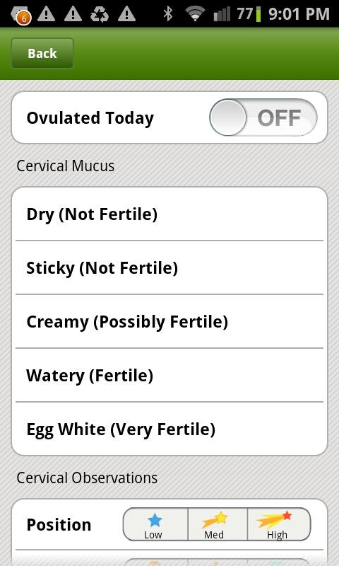 Period Tracker Deluxe - screenshot