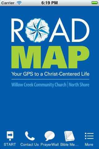 ROAD MAP: Your GPS to a Christ - screenshot