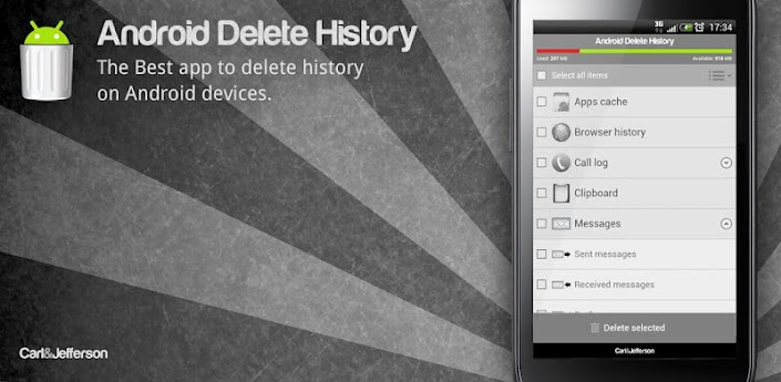 Android Delete History PRO apk