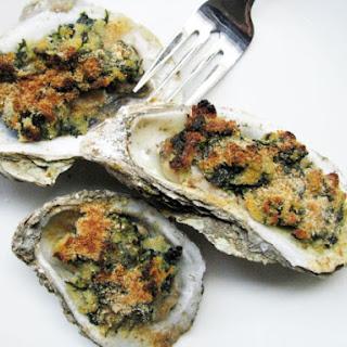 Oysters Rockefeller.