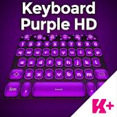 Keyboard Purple HD