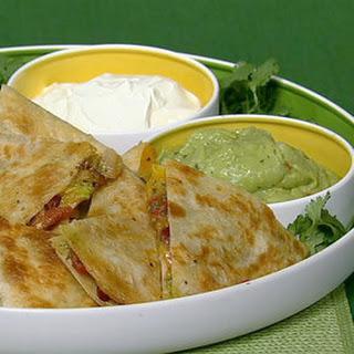 Chili Cheese Quesadilla.
