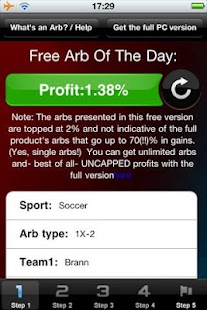 Arb Of The Day: 100PercentWinn - screenshot thumbnail