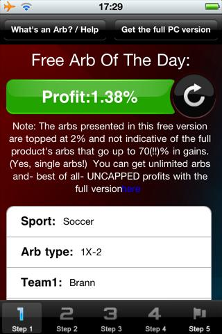 Arb Of The Day: 100PercentWinn - screenshot