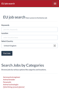EU Jobs - screenshot thumbnail