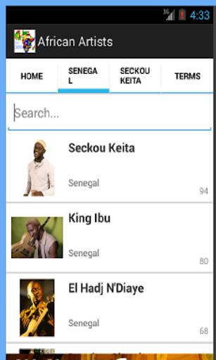 免費下載音樂APP|African Artists app開箱文|APP開箱王