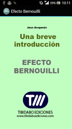 Efecto Bernouilli