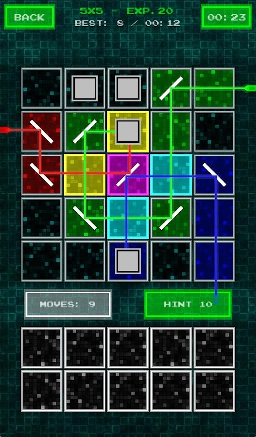 Laser Puzzle- screenshot