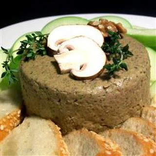 Exotic Mushroom and Walnut Pate