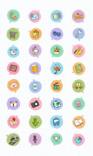 CUKI Theme Bubble icon