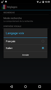 Offline French Italian Dict.- screenshot thumbnail