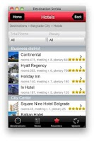 Screenshot of Serbia Destination