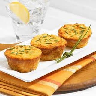 Mini Cheese Souffle Bites.