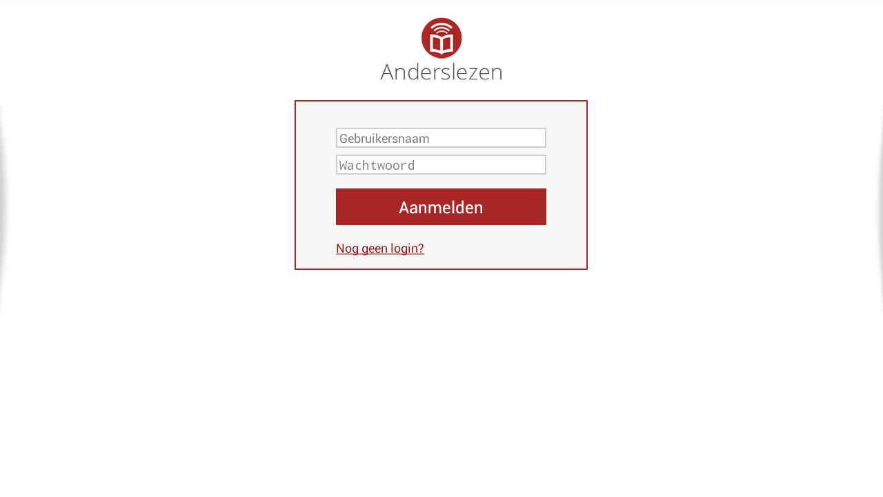 Anderslezen- screenshot