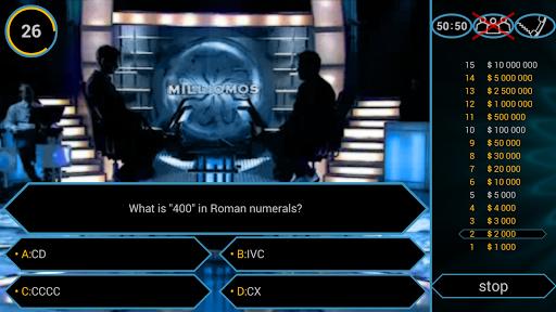 Millionaire Quiz Free: Be Rich 2.5.1 screenshots 1