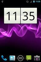Screenshot of acWidgets: Your Clock