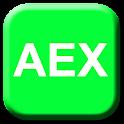 AEX Widget logo