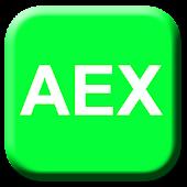 AEX Widget