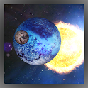 Orbit Space 3D LWP Free icon