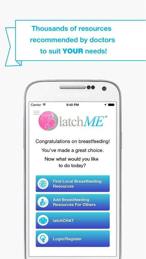 latchME - breastfeed easier- screenshot