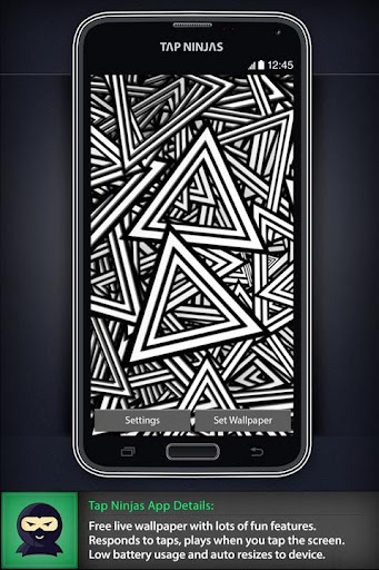 Black and White Patterns LWP
