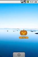 Screenshot of Halloween Countdown