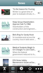 WRKF Public Radio App - screenshot thumbnail