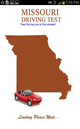 Missouri Driving Test