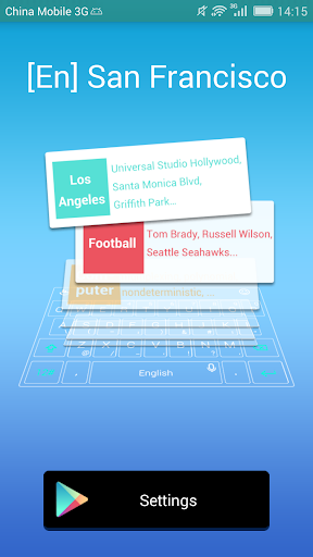 San Francisco Dict TouchPal