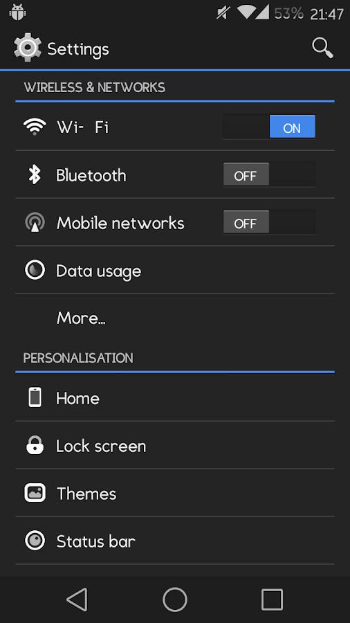 Eligible Sans [CyanogenMod 11]- screenshot