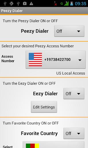 Peezy Dialer