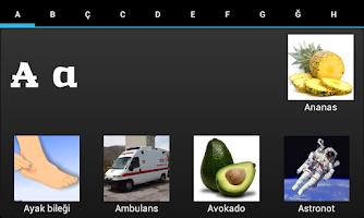 Screenshot of ABC Book Turkish