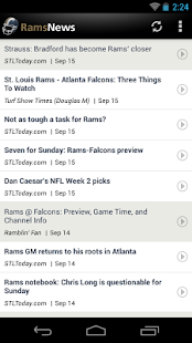 Rams News - screenshot thumbnail