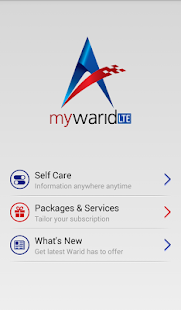 My Warid- screenshot thumbnail