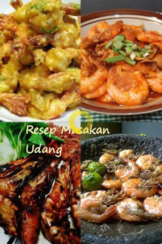 Resep Masakan Udang