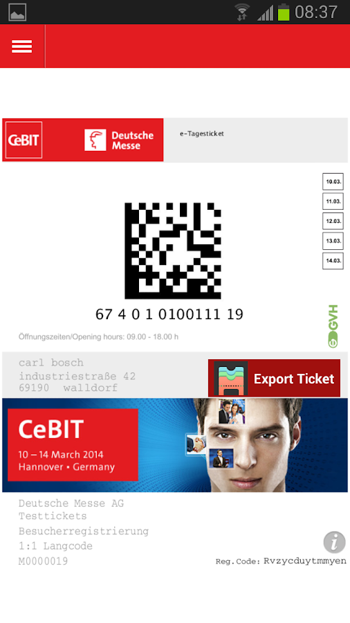 CeBIT - screenshot