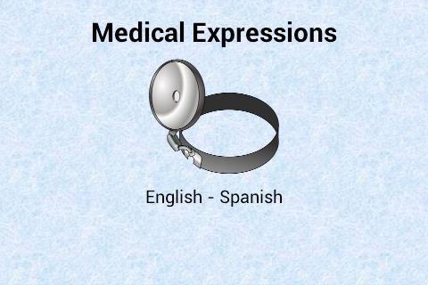 Medical Expressions Eng-Spa