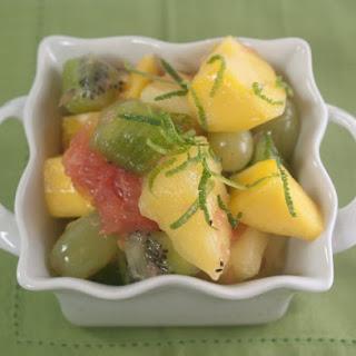 Drunken Fruit Salad.