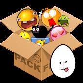 Emoticons pack, Egg white