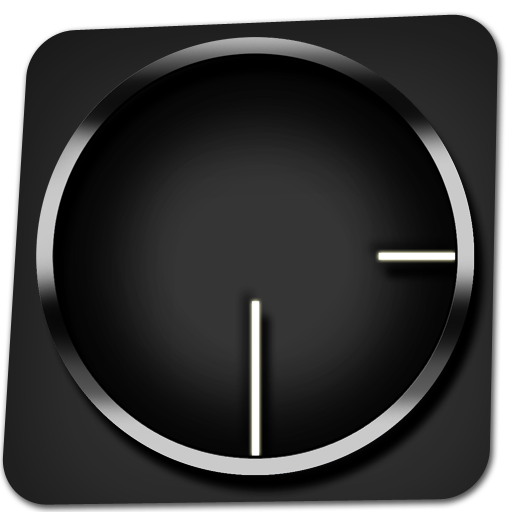 transparent clock apk