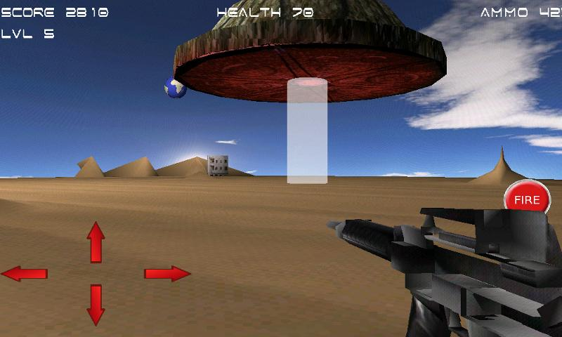 Alien Strike 3D - screenshot