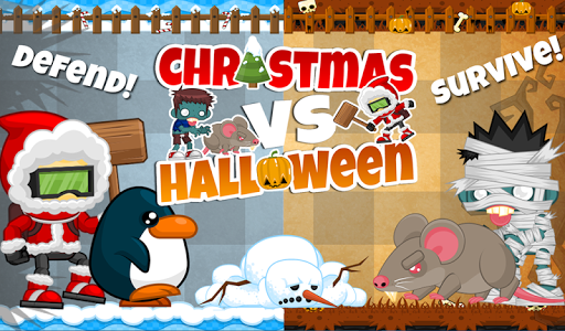 FREE Xmas vs Halloween Battle