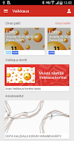 Screenshot of Veikkaus
