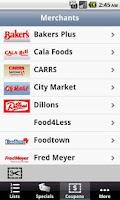 Screenshot of Grocery Pal (In-Store Savings)