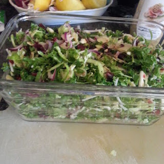 Kale And Sprout Salad.