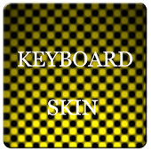 Yellow Carbon Keyboard Skin