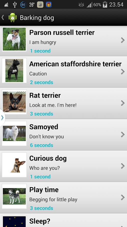 Barking Dog Sounds - screenshot
