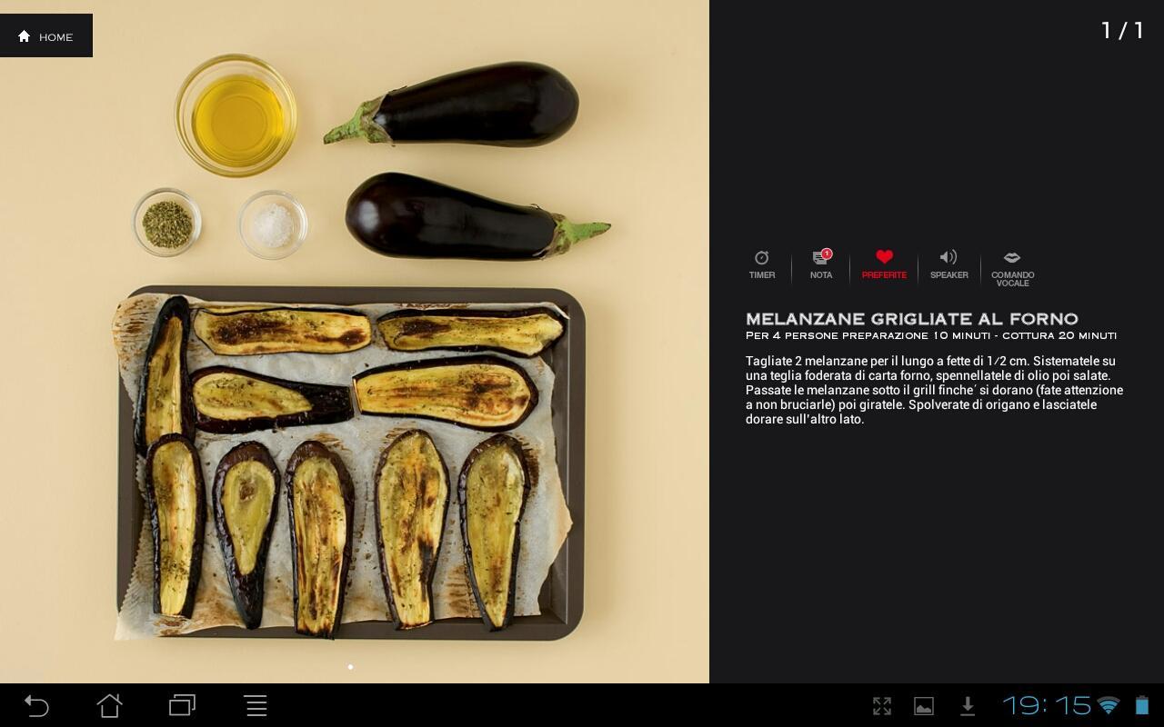 Basi della cucina italiana HD- screenshot