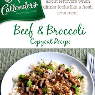 Beef & Broccoli Copycat Recipe for Marie Callender's