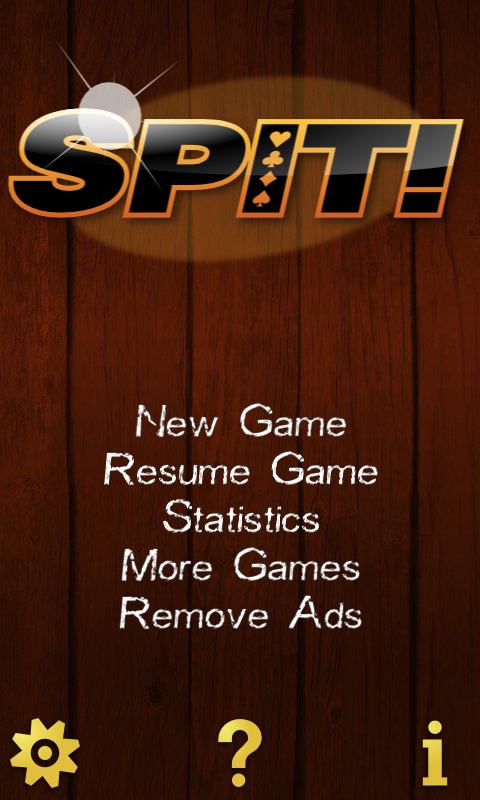 Spit !  Speed ! Card Game Free - screenshot